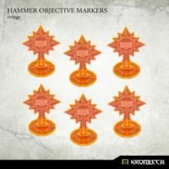 Hammer Objective Markers - Orange