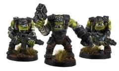 Armored Orc SMG Squad
