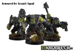 Assault Greatcoat Squad in Armor
