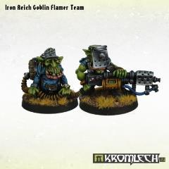 Iron Reich Flamer Team