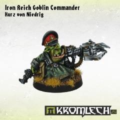 Iron Reich Commander Kurz von Niedrig
