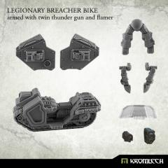 Legionary Breacher Bike w/Twin Thunder Gun & Flamer