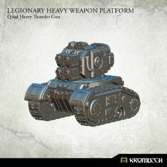 Legionary Heavy Weapon Platform - Quad Heavy Thunder Gun