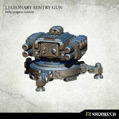 Legionary Sentry Gun - Twin Magma Cannon