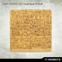 HDF Glyphs - Orc Small Skullz'N'Stuff