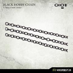 Black Hobby Chain - 3.5x3mm