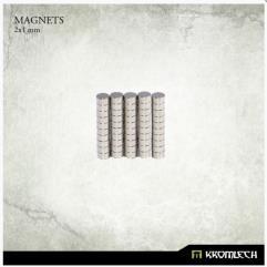 Neodymium Disk Magnets 2x1mm