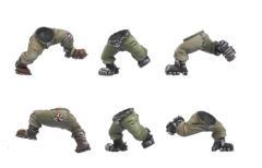 Orc Running Legs