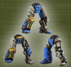 Legionary Bionic Legs #2