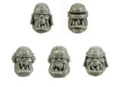 Armored Orc Heads