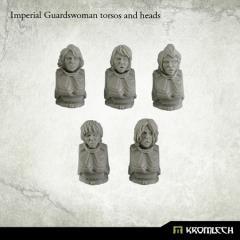 Imperial Guardswoman Torsos & Heads