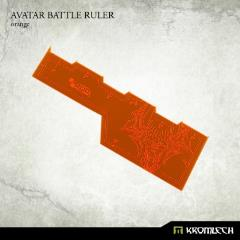 Avatar Battle Ruler - Orange