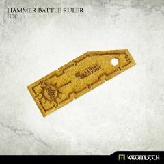 Hammer Batle Ruler - HDF