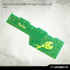 Bedlam Fraternity Battle Ruler - Green