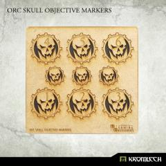 Objective Markers - Orc Skull