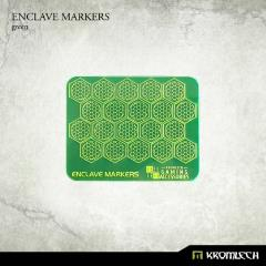 Enclave Markers - Green