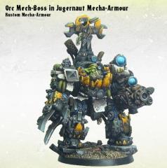 Orc Mech-Boss in Kustom Mecha-Armor