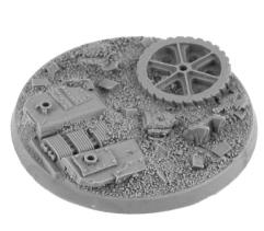 60mm Round Base - Clanking Behemoth