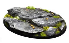 105mm Oval Base - Rocky Outcrop