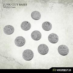 25mm Round Bases - Junk City
