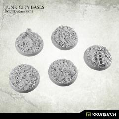 32mm Round Bases Set #1 - Junk City