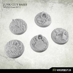 32mm Round Bases Set #2 - Junk City