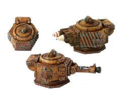 Small Turret - Rehrborg Pattern