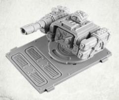 Legionary APC Turret - Lascannon w/Twin Plasma Gun