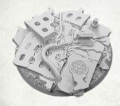 60mm Round Base - Concrete Slab #1