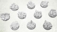 25mm Round Base - Concrete Slabs #2