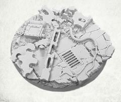 60mm Round Base - Concrete Slab #2