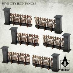 Hive City Iron Fence