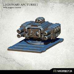 Legionary APC Turret - Twin Magma Cannon