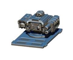 Legionary APC Turret - Magma Cannon w/Searchlight