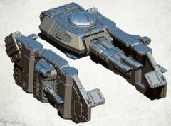 Legionary Assault Tank Sponsons - Lascannons