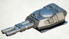 Legionary Assault Tank Turret - Twin Lascannon