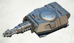 Legionary Assault Tank Turret - Annihilation Beamer