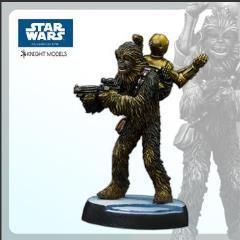 Chewbacca w/C3PO