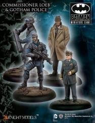Commissioner Loeb & Gotham Police