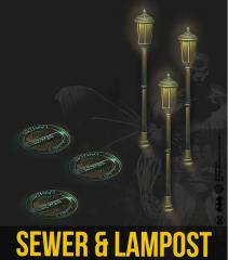 Sewers & Lamposts Resin Set