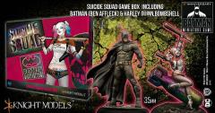 Suicide Squad Game Box (w/Limited Edition Bombshell Harley Quinn Miniature)