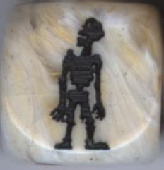 Boney Zombie Dice - Marble (2)