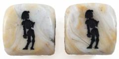 One Armed Zombie Dice - Marble (2)