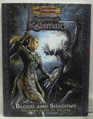Blood and Shadows - The Dark Elves of Tellene