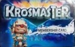 Krosmaster Membership Card