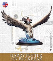 Harry Potter on Buckbeak