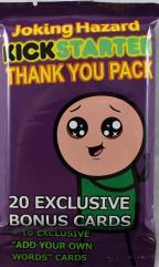 Joking Hazard - Thank You Pack (Kickstarter Exclusive)