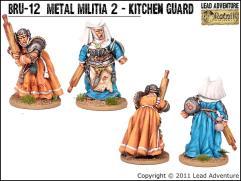 Metal Militia #2 - Kitchen Guard