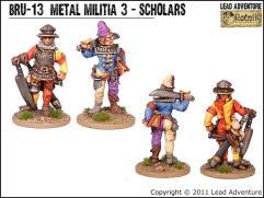 Metal Militia #3 - Scholars