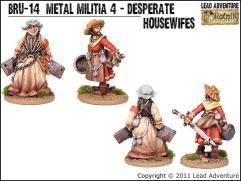 Metal Militia #4 - Desperate Housewifes